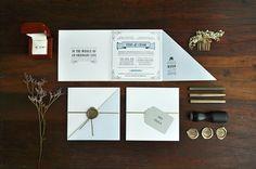 1920s Inspired Letterpress Wedding Invitations by Tere Hinojosa Creative via Oh So Beautiful Paper (1)