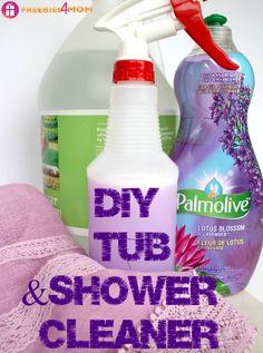 DIY Tub & Shower Cleaner
