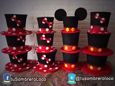 #sombreros #Mickey #Minnie #Disney #fiesta #cumpleaños #niños
