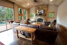rustic - living - home