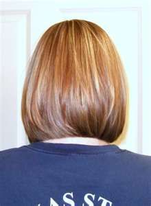 inverted bob.  Hey Felecia this is how I want my hair..... a little stacked bob