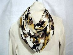 Ladies Infinity scarf circle scarf cowl scarf by sewinggranny, $12.00