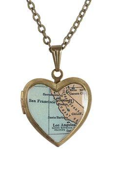 Map locket