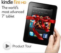 "Kindle Fire HD  7"" HD Display, Dolby Audio, Dual-Band Dual-Antenna Wi-Fi, 16GB or 32GB"