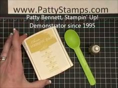 Re-inking Stampin Up! new foam ink pads video