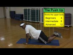 Ray McElroy teaches kids how to do push ups in this ENDZONE video - www.sarahbush.org/endzone kid sport, teach kid