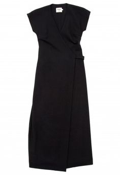 samuji black wrap dress  #minimalist #fashion