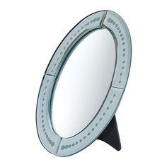 BERLEVÅG  Table mirror, oval  £5.49