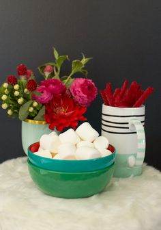 Cozy up with mini bowls perfect for winter snacks