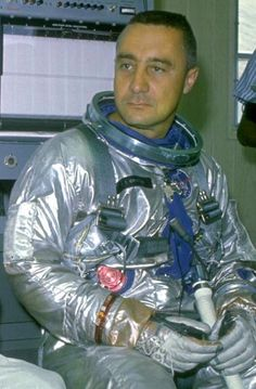 """""""Gus"""" Grissom (1926 - 1967) One of the orginial Mercury 7 astronauts, he died in a fire on the launch pad while strapped into the Apollo 1 capsule for a test"""