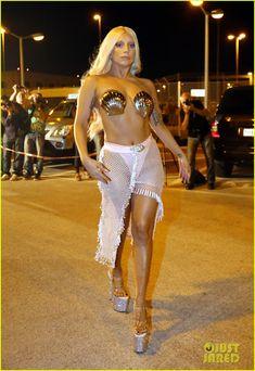 Lady Gaga Channels Greek Goddess Aphrodite in Athens | lady gaga greek goddess aphrodite in athens 03 - Photo