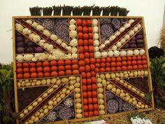 The Cheshire Show - vegie union jack