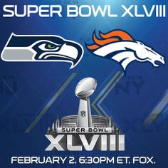 It's officially Super Bowl Sunday! #SB48