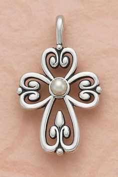 Cross of Adoration with Pearl from James Avery Jewelry
