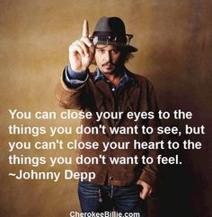 yes mr.depp ... Click this image to browse more #quotes & #funny pics! :)