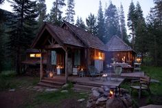 The perfect woodsy cabin.