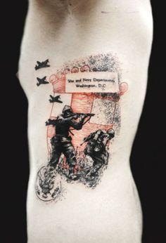 Xoic Loic #InkedMagazine #patriotic #military #tattoo #tattoos #inked