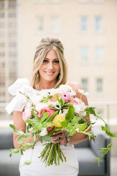 #peony, #anemone  Photography: Jana Williams Photography - jana-williams.com  Read More: http://www.stylemepretty.com/2014/10/20/blogger-bride-devon-rachel-wedding/