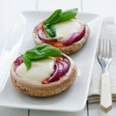 Portobello Pizza Recipe