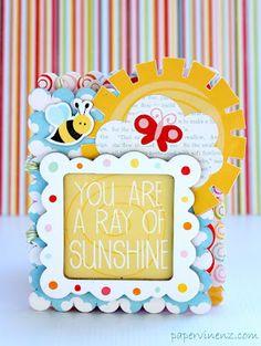 Paper Issues: Ray of Sunshine Mini Album
