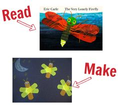 read & make 25 books with crafts to match!