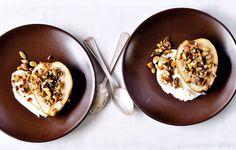 Roasted Pear Crumble - Bon Appétit