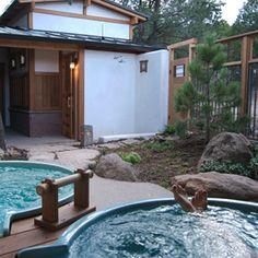 Ten Thousand Waves, mountain spa resort near Santa Fe, New Mexico that feels like a Japanese onsen