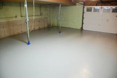 DIY epoxy floor tutorial