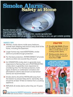 Smoke alarms are important. #HomeSafetyStore