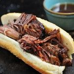 Balsamic Roast Beef French Dip Sandwich Recipe