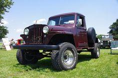 1962 Willys Motor Company Jeep Pickup Truck by geepstir, via Flickr