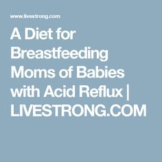 A Diet for Breastfee