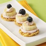 Healthy Recipes that are Fun for Kids: Blueberry Banana Stacks (via Parents.com)