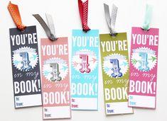 holiday, bookmarks, craft, valentine day, printabl valentin