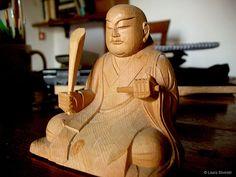 Nichiren Daishonin statue   © Laura Silvestri
