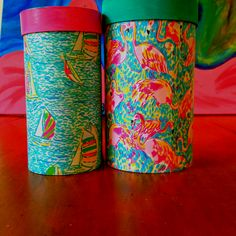 DIY lily pulitzer containers