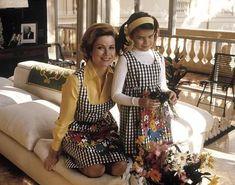 carolin, matching outfits, mothers, princess grace, royal, grace kelli, princesses, families, de monaco
