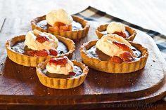 Chocolate Banana Tarts - gluten-free and low FODMAP -