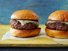 Perfect Burger Recipe : Bobby Flay : Food Network - FoodNetwork.com
