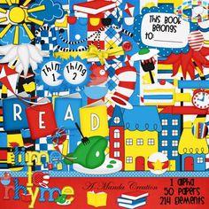 Read Across America Clip art! Dr. Seuss
