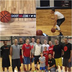Big thanks and shoutout to Stephen Curry of the Golden State Warriors stopping by #Shoot360 to train this weekend! #NBA #BasketballTraining #BasketballNeverStops #StephCurry