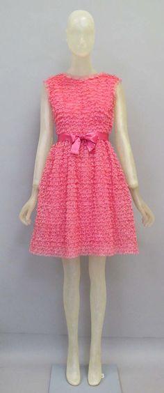 1965  #dress #retro #partydress #romantic #feminine #fashion #vintage #designer #classic  #highendvintage