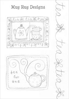 Mug Rug Design | Flickr: Intercambio de fotos