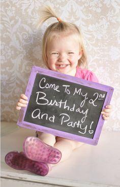 INVITATION: birthday party