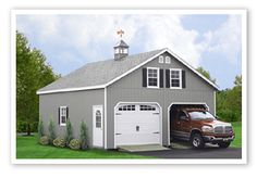 Garages on pinterest garage plans country style houses for 24x28 garage plans