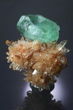 Creedite & Fluorite - Mexico