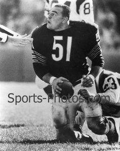 Dick Butkus - Now, I'm from Chicago so this MEANS something to me.