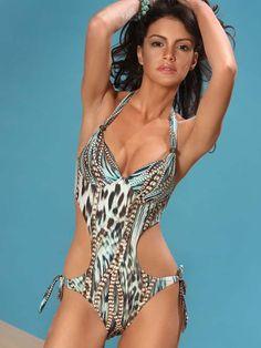 Nice cut on this one!!! Jolidon Monokini Swimsuit 2014