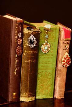 DIY::Pretty Jewelry Bookmarks