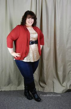 What I Wore: Live long and Sparkle  by Discourse of a Divine Diva, featuring Asos Curve and @Gwynnie Bee